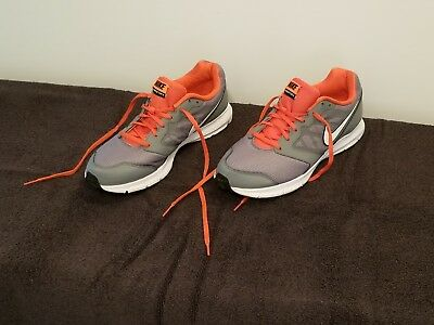 finest selection 037fe 6a91a Men s Nike Downshifters 6 tennis shoes grey   orange