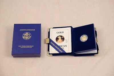 1990 American Eagle One-Tenth Ounce Proof Gold Bullion Coin