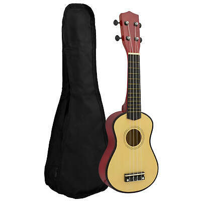 Natural Soprano Starter Ukulele With Bag