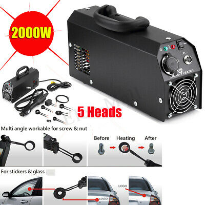2000W Car Induction Heater Dent Repair Machines Tool Paintless HotBox Remover