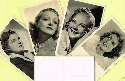 ROSS VERLAG - 1940s Film Star Postcards produced in Germany #A2526 to #A2680
