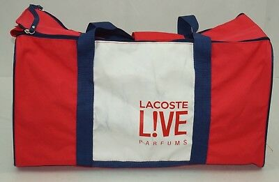 12 L Lacoste White Duffle 12 Sport Parfums Red Gym Energized Yfbv7gy6I