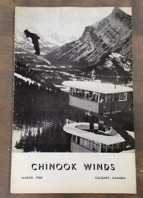 Vintage March 1960 Edition of T Eaton Co Chinook Winds Staff Magazine Mt Norquay