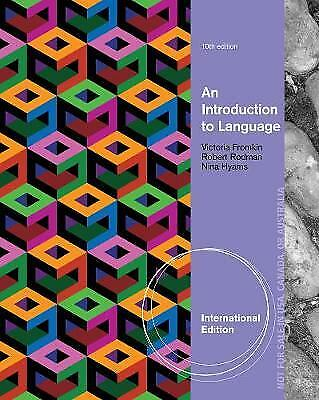 An Introduction to Language,PB, - NEW
