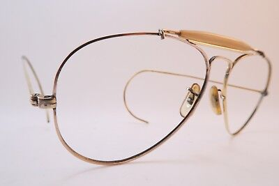 Vintage B&L Ray Ban eyeglasses frames gold filled 1/30 10K made in the USA