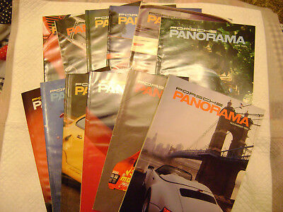 1992 Porsche PCA Panorama Magazine 1ull year Issues ,*NEAR MINT CONDITION