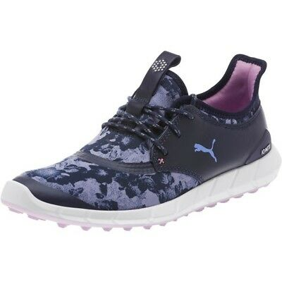 New Women S Puma Ignite Spikeless Sport Floral Golf Shoes Peacoat 190171-03 808c2c17c