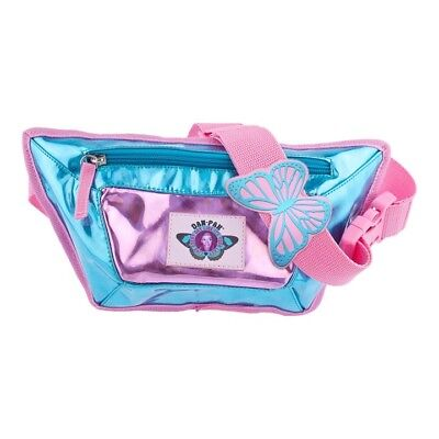 32bbe051052d DAN-PAK HOLOGRAPHIC FLASK Fanny Pack By Hydration Waist Pack Silver ...