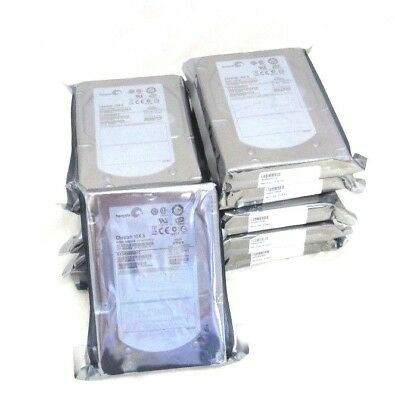"Lot of 10 Seagate Cheetah ST3450856FC 15K.6 450GB 15K 3.5"" Fibre Channel Drives"