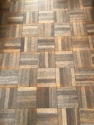 Parquet Flooring Reclaimed - Sold As 20 piece grids