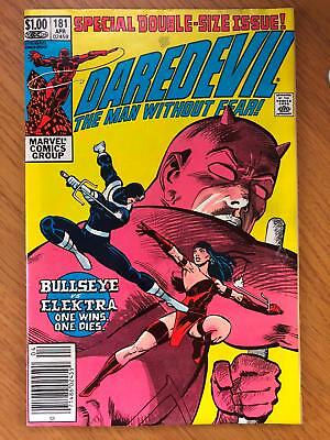 Daredevil #181 Death of Elektra. Frank Miller