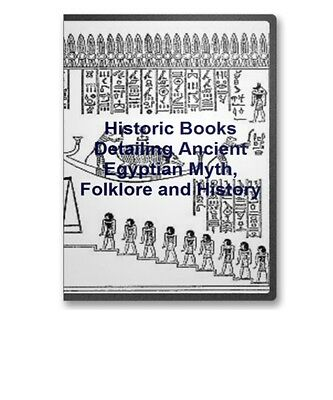 14 Rare Books Ancient Egypt Mysteries &  Folklore  Book Of The Dead CD - B45