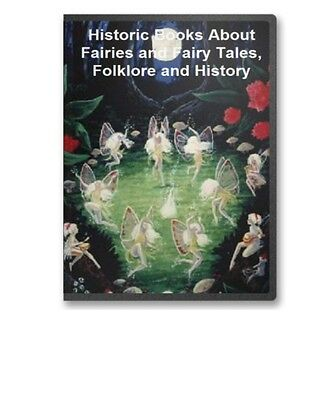 46 Antique Rare Books Fairy Fairies Legends Tales Myths Tales  CD - B41
