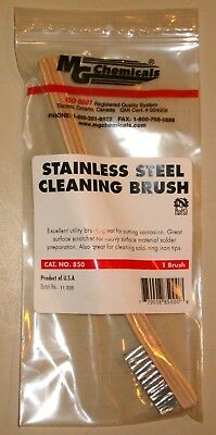 Stainless Steel Cleaning Brush (Solder, surface prep tool) (MG Chemicals 850)