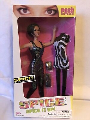 Rare Spice Girls Victoria Spice It Up 2 As Featured On Viva Forever Doll Box