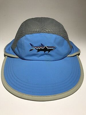 36384478ad9 PATAGONIA FITZ ROY Trout Vented Spoonbill Sun Shade Cap Hat S M ...