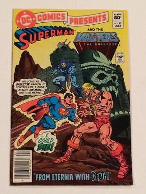 DC Comics Presents #47 Superman and Masters of the Universe 1st app He-man FN+
