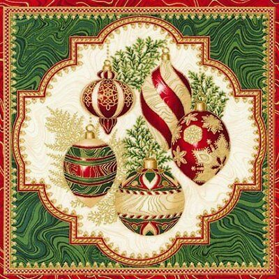 Clearance Sale~Holiday Flourish 11 Christmas~Panel 24'' x 44''