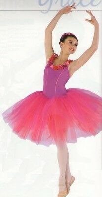 Flower Festival Dance Costume Ballet Tutu Christmas Sugar Plum Fairy Adult Large