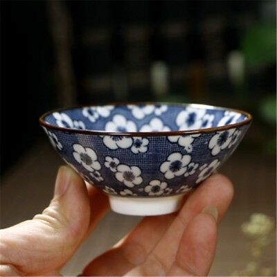 traditional porcelain blue and white china tea cup tea ceremony personality gift