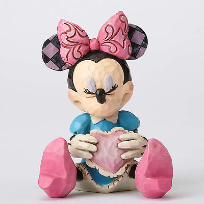 Disney Traditions*MINIATURE MINNIE MOUSE with HEART*Jim Shore*NEW*NIB*4054285