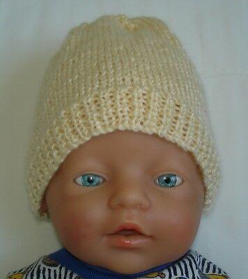 Hand Knitted Baby Hat for Baby ( Newborn - 3 month approx )