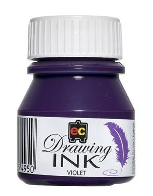 30ml bottle of Drawing/Fountain Pen/ artists painting Ink - choose colour