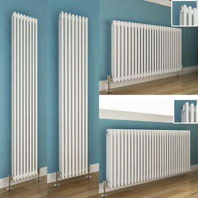 Horizontal or Vertical Radiator Traditional Cast Iron Style Column Radiators New