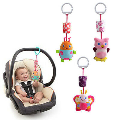Newborn Bed Bell Rattle Toys Mobile Baby Toys 0 - 12 Months Cartoon Animal Bell