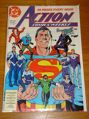 Action Comics #601 Dc Near Mint Condition Superman May 1988