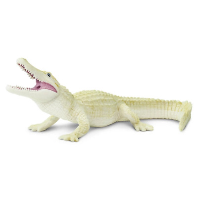 Safari Ltd Saf291929 White Alligator, Wild Safari Wildlife