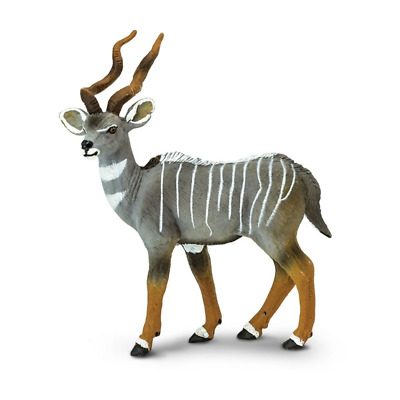 Safari Ltd Saf296229 Lesser Kudu, Wild Safari Wildlife