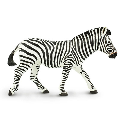 Safari Ltd Saf111489 Zebra, Wildlife Wonders