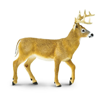 Safari Ltd Saf113589 Whitetail Buck, Wildlife Wonders