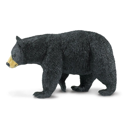 Safari Ltd Saf112589 Black Bear, Wildlife Wonders