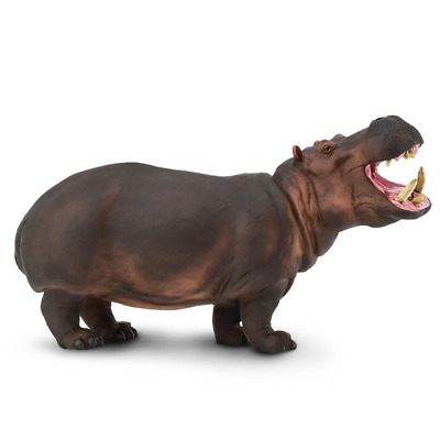 Safari Ltd Saf111889 Hippopotamus, Wildlife Wonders