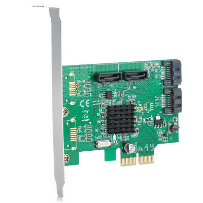New Marvell9230 Chipset SATA 6Gbps PCI-Express RAID Controller Card Green