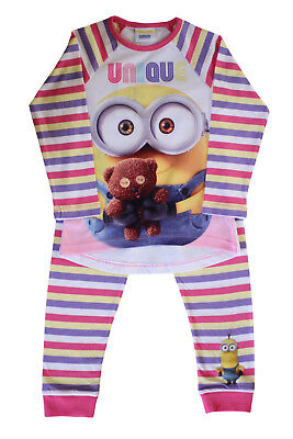 Official Licensed Minions Pyjama Shirt Cotton Full Sleeves Pyjamas Boys Girls