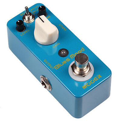 Mooer Blues Mood Blues Overdrive Micro Guitar Effects Pedal