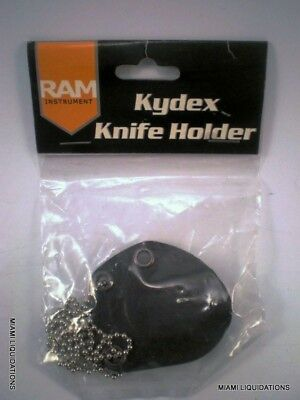 Kydex Knife Holder Neck Sheath & Chain for Chive Ram Instrument RAM1600
