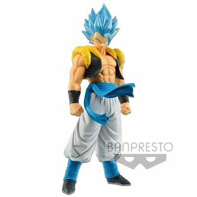 Banpresto DRAGON BALL Movie GRANDISTA Super Saiyan God Blue Gogeta Figure SSGSS