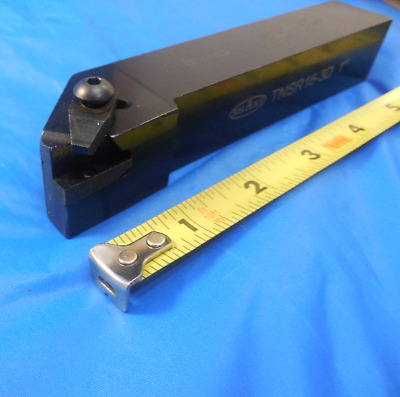 "Shars Tnsr 16-30 1"" Square Shank Turning Tool Holder Top Notch Threading Groovin"