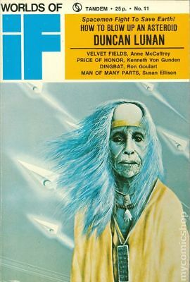 If Worlds of Science Fiction (Pulp Digest) UK Reprint #Vol. 22 #2 1973 VG 4.0