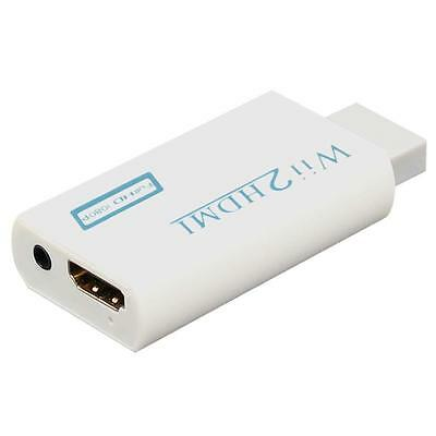 Wii to HDMI Wii2HDMI 720P 1080P Video Converter Output Upscaling Adaptor FHD TR