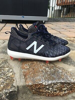 37191d1467ba NEW BALANCE COMPV1 Sz.9 Navy Baseball Cleats - $53.00 | PicClick