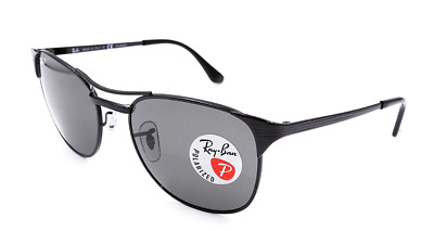 5c27fd8821d Authentic RAY-BAN Signet Polarized Black RB3429 - 002 58 Sunglasses  NEW