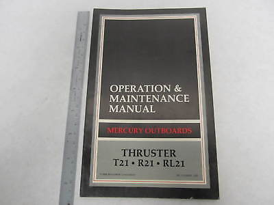 Mercury thruster t21 r21 rl 21 electric outboard operation mercury thruster t21 r21 rl 21 electric outboard operation maintenance manual freerunsca Image collections