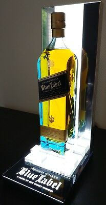 Johnnie Walker - Blue Label - Unique bottle stand with dimmable light! no bottle