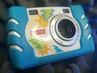 Fisher Price Kid Tough Blue 4x Digital Zoom Camera W1459/ W1460