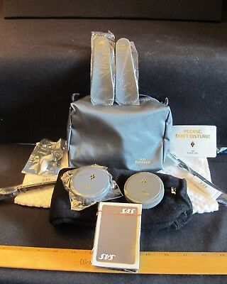 SAS Airlines Amenity Kit and Deck of new Playing cards